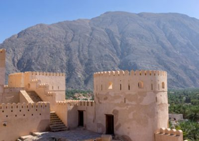 Nakhi Fort in Oman