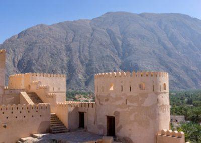 Nakhi Fort in Oman