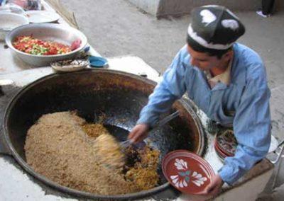 Market in Uzbekhistan