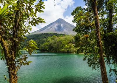 Arena volcano Costa Rica