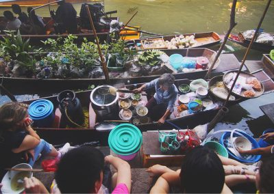 Floating Market in Vietnam by Harvey Enrile for Unsplash
